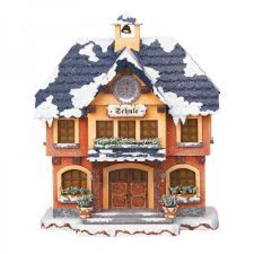 hubrig winterlandschaft erzgebirge spieluhr schneekugeln flade spieluhren. Black Bedroom Furniture Sets. Home Design Ideas